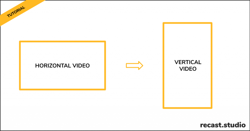 How To Resize Horizontal Video To Vertical For Stories, IGTV or TikTok - [Tutorial] Uncategorized horizontal video to vertical